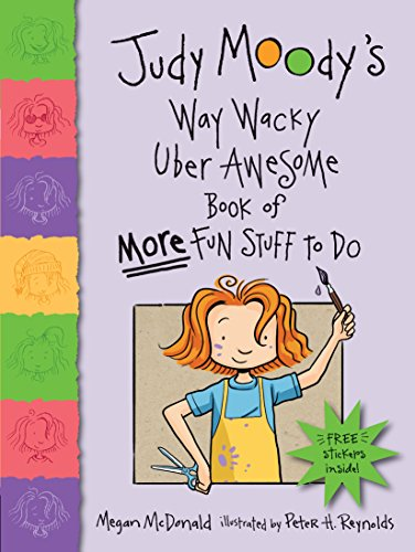 9780763643096: Judy Moody's Way Wacky Uber Awesome Book of More Fun Stuff to Do [With Sticker(s)]