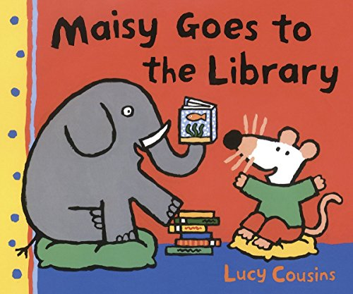 9780763643713: Maisy Goes to the Library