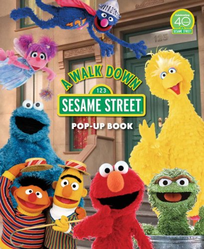 9780763646004: A Walk Down Sesame Street: Pop-Up Book