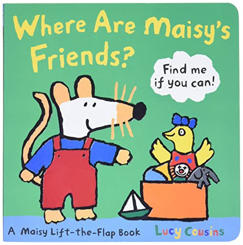 9780763646691: Where Are Maisy's Friends?: A Maisy Lift-the-flap Book