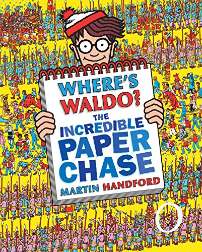 9780763646899: Where's Waldo? the Incredible Paper Chase [With Punch-Out(s)]