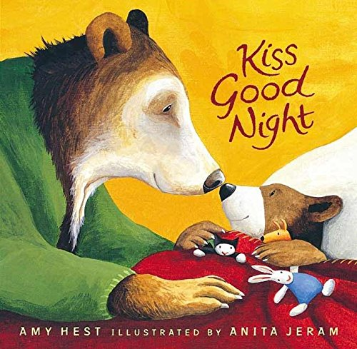 9780763647483: Kiss Good Night Lap-Size Board Book (Sam Books)