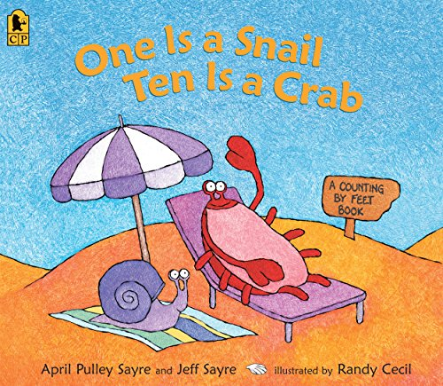9780763647902: One Is a Snail, Ten Is a Crab Big Book: A Counting by Feet Book
