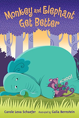 9780763648411: Monkey and Elephant Get Better: Candlewick Sparks (Candlewick Readers (Hardcover))