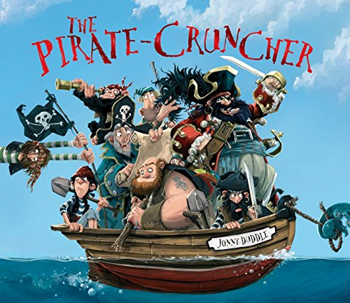 Cover of the book, The Pirate-Cruncher.