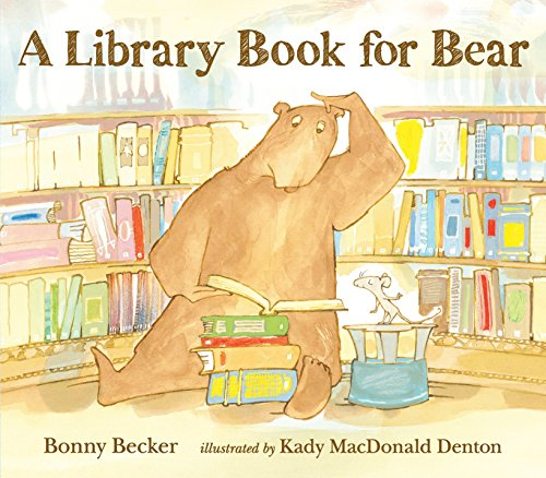 9780763649241: A Library Book for Bear