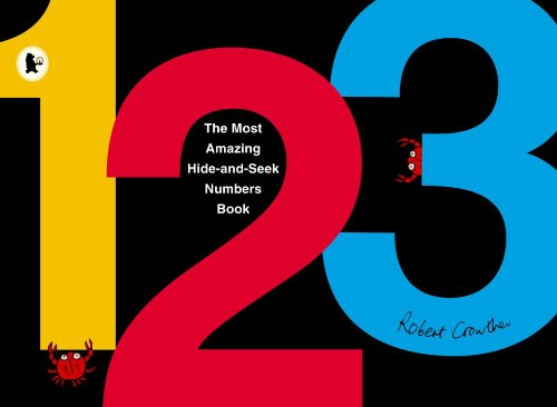 9780763650292: The Most Amazing Hide-and-Seek Numbers Book