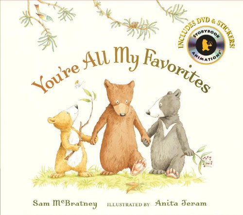 9780763651589: You're All My Favorites with Audio (Candlewick Storybook)