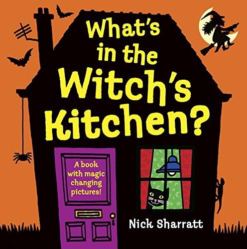What's in the Witch's Kitchen?: Sharratt, Nick