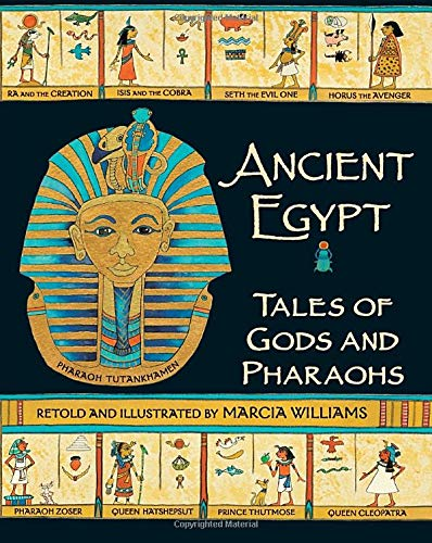 9780763653088: Ancient Egypt: Tales of Gods and Pharaohs