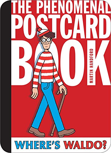 9780763654160: Where's Waldo? The Phenomenal Postcard Book