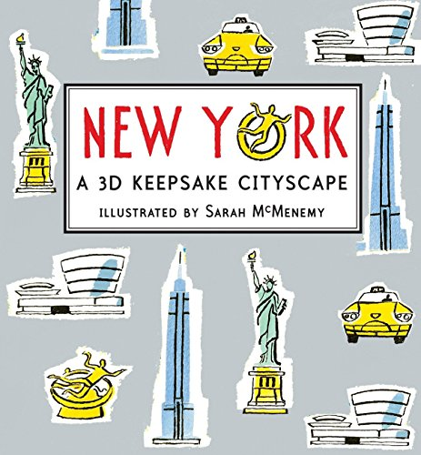9780763654832: New York: A 3D Keepsake Cityscape