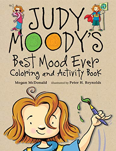 9780763657079: Judy Moody's Best Mood Ever Coloring and Activity Book