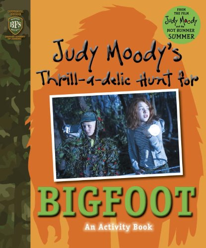 9780763657086: Judy Moody's Thrill-a-delic Hunt for Bigfoot (Judy Moody Movie Tie-In)