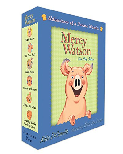 9780763657093: Mercy Watson Boxed Set: Adventures of a Porcine Wonder