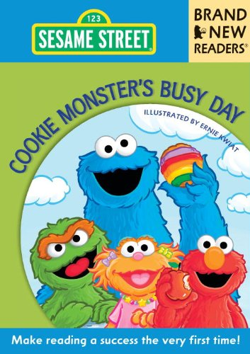 Cookie Monster's Busy Day: Brand New Readers (Sesame Street Books) (9780763657772) by Sesame Workshop