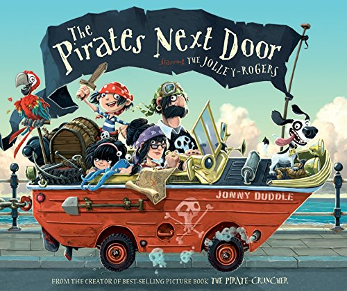 Cover of the book, The Pirates Next Door.