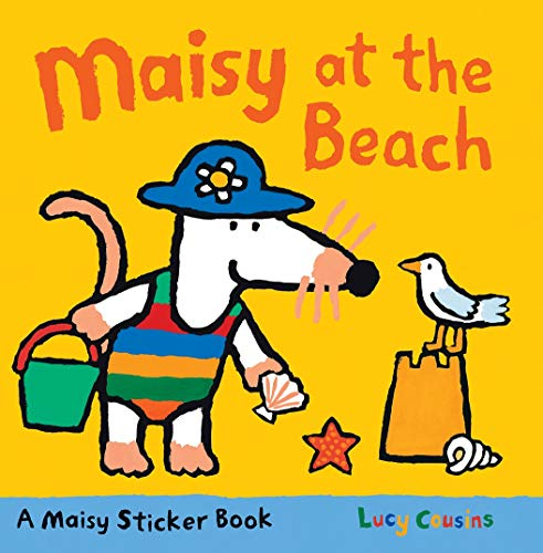 9780763659080: Maisy at the Beach: A Sticker Book