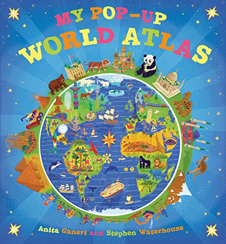 9780763660949: My Pop-Up World Atlas