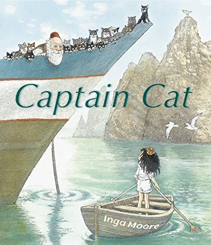 Captain Cat (0763661511) by Moore, Inga