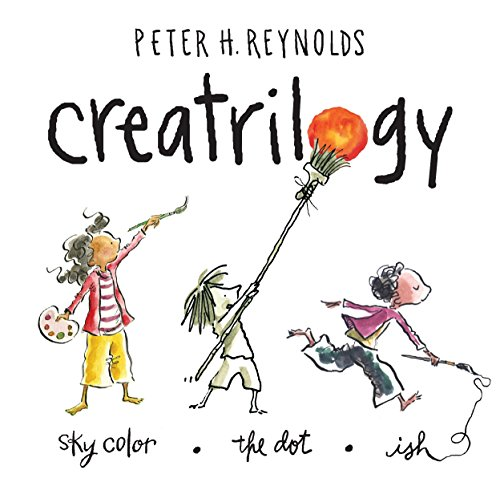 9780763663278: Peter Reynolds Creatrilogy Box Set (Dot, Ish, Sky Color)