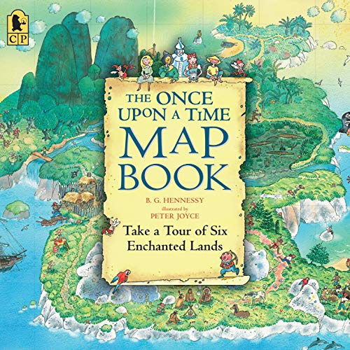 9780763664756: The Once Upon a Time Map Book Big Book: Take a Tour of Six Enchanted Lands