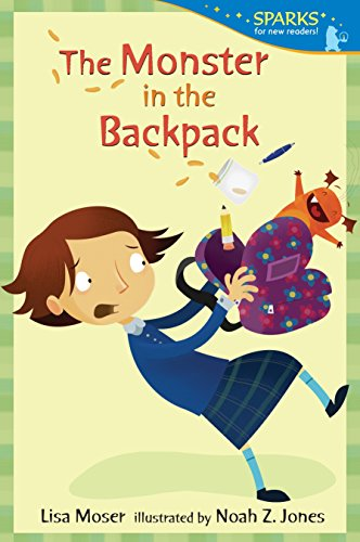 9780763666439: The Monster in the Backpack: Candlewick Sparks