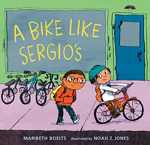 9780763666491: A Bike Like Sergio's (A Junior Library Guild Selection)