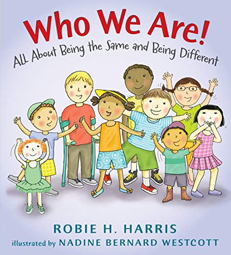 9780763669034: Who We Are!: All About Being the Same and Being Different (Let's Talk about You and Me)