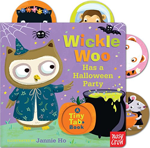 9780763674007: Wickle Woo Has a Halloween Party (Tiny Tab Book)