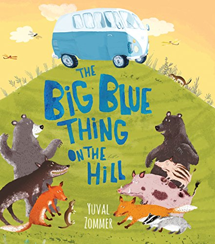 9780763674038: The Big Blue Thing on the Hill