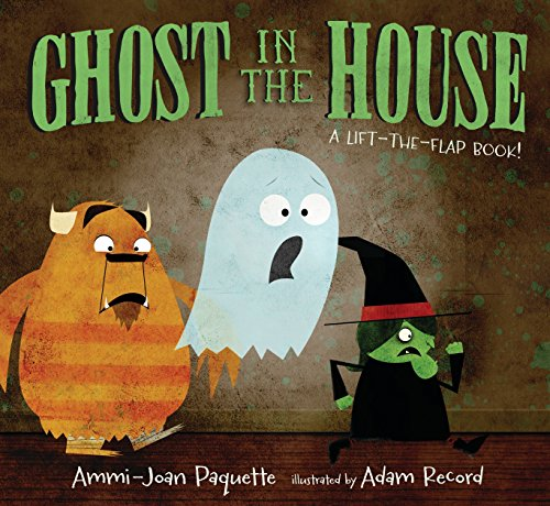 9780763676223: Ghost in the House: A Lift-the-Flap Book