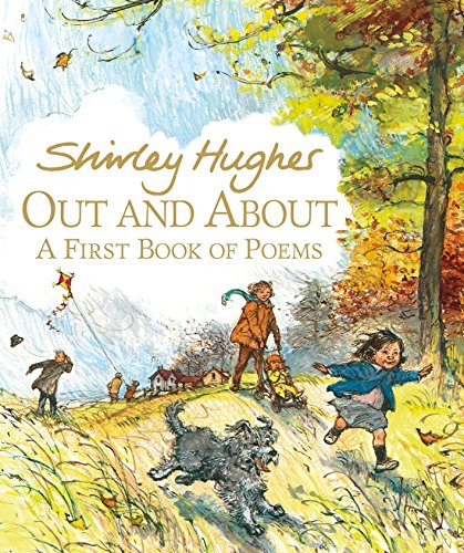 Out and About 9780763676445 The internationally acclaimed Shirley Hughes offers a treasury of seasonal poems that evoke the day-to-day experiences of the very young. In this joyous collection of poems, Katie and her little brother, Olly, are ready for whatever each day offers—sunshine, wind, rain, mist, or snow. From the happy sights and sounds of the beach to the quiet beauty of leaves in a rain puddle, this exuberant volume captures to perfection the everyday wonder of being out and about.