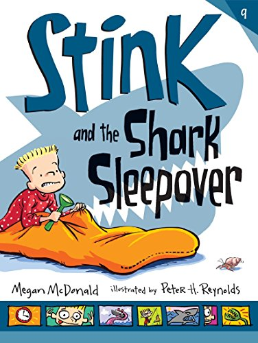 9780763676780: Stink and the Shark Sleepover