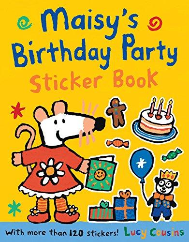 9780763677350: Maisy's Birthday Party Sticker Book