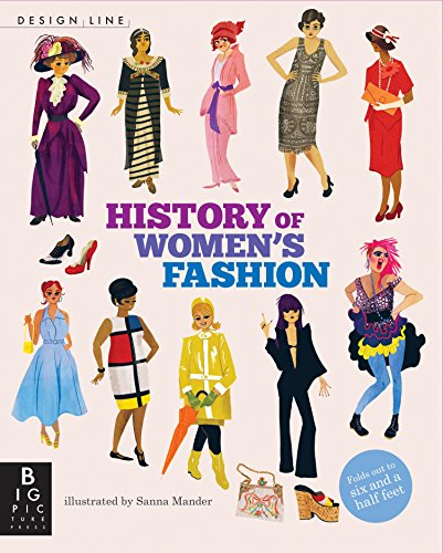 9780763679620: Design Line: History of Women's Fashion