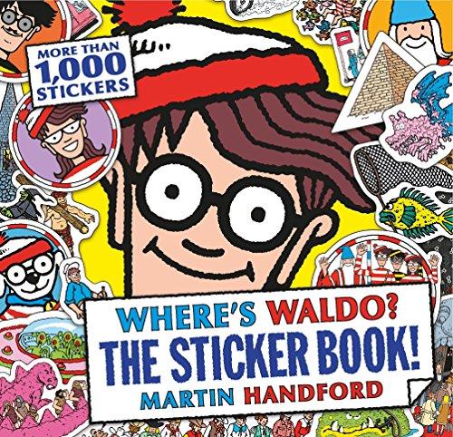 Where's Waldo? The Sticker Book!: Martin Handford