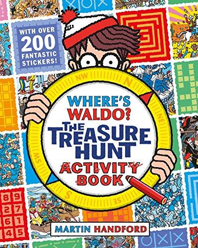 9780763688110: Where's Waldo? The Treasure Hunt: Activity Book