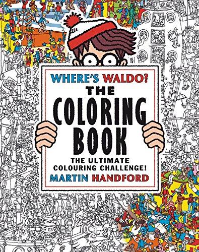 9780763688448: Where's Waldo? The Coloring Book
