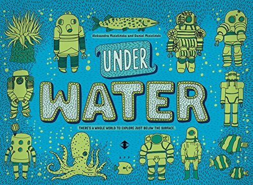 Under Water, Under Earth (Hardcover): Aleksandra Mizielinska