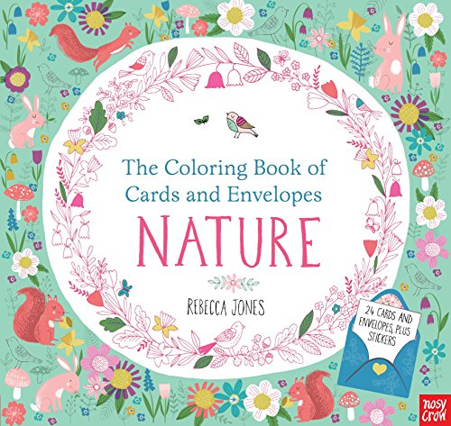 9780763692452: The Coloring Book of Cards and Envelopes: Nature