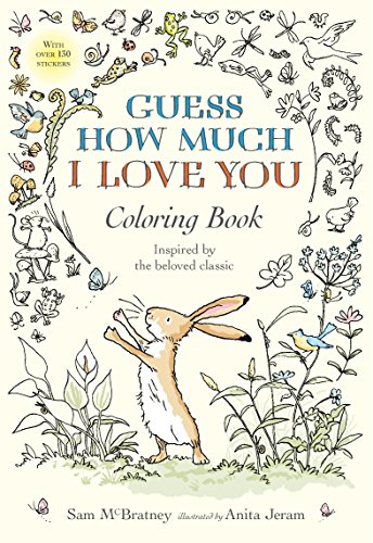 9780763694678: Guess How Much I Love You Coloring Book