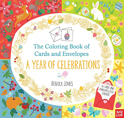 9780763695293: The Coloring Book of Cards and Envelopes: A Year of Celebrations