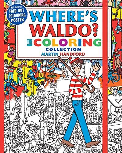 9780763695774: Where's Waldo? The Coloring Collection