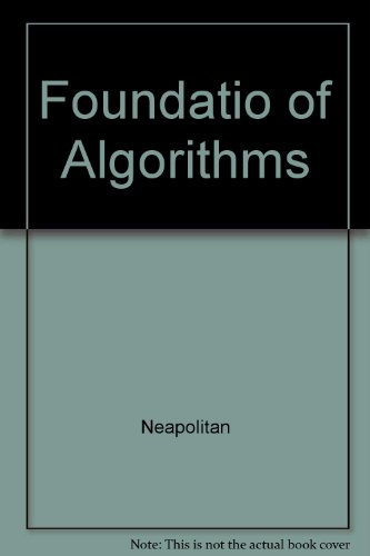 9780763704827: Foundations of Algorithms