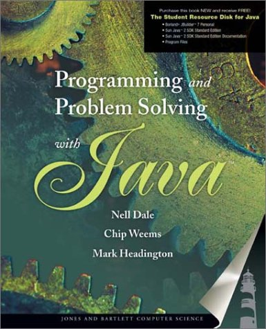 9780763704902: Programming and Problem Solving with Java