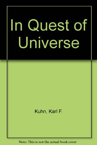 9780763709907: In Quest of Universe