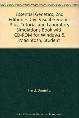 9780763710491: Essential Genetics, 2nd Ed.+ Day: Visual Genetics Plus, Tutorial And Laboratory Simulations Book: (With Cd-rom for Windows & Macintosh, Student Edition)
