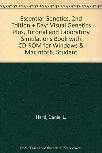 Essential Genetics, 2nd Edition + Day: Visual Genetics Plus, Tutorial and Laboratory Simulations ...