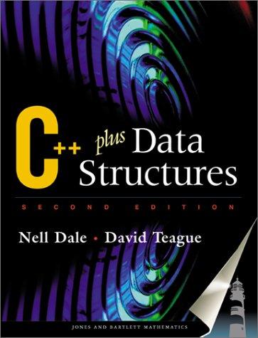 9780763714703: C++ Plus Data Structures